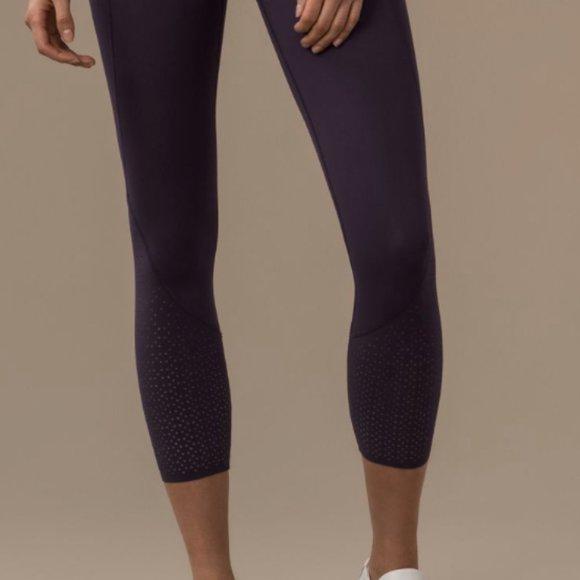 lululemon athletica Pants - Lululemon Anew Tight purple size 4